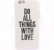 сделать вещь с любовью образов случай для IPhone 6