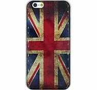 The Retro National Flag of U.K. Pattern TPU Soft Back Cover Case for iPhone 6