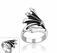 moda artiglio forma a buon mercato uomini all'ingrosso anello in acciaio inox