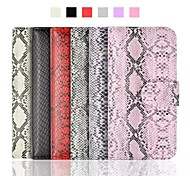 Python Pattern PU Leather Flip-open Full Body Case for iPhone 6(Assorted Colors)