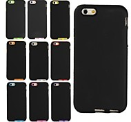 4.7 Inch Silicone Frosted Surface Case for iPhone 6/6S (Assorted Colors)