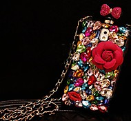 Perfume Bottles Models with Diamond Hard Back for iPhone 4 / iPhone 4S