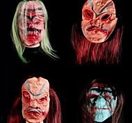 Силиконовый фантазии платье партии Хэллоуин маска (случайный цвет)