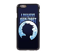I Believe in Jack Frost Design Aluminum Hard Case for iPhone 6