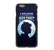 creo en estuche rígido jack frost diseño de aluminio para el iPhone 6 Plus