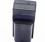 1800mAh bateria para câmera digital com carregador de bateria para Olympus BLM-1