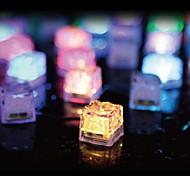 Cubos de gelo 36pcs conduziu casamento festa luz bar natal restaurante