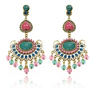 (1 Pair) European Fashion Retro Style  Drop Earrings Hot Sale