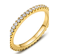 Roxi Fashion Christmas Gift Classic Genuine Austrian Crystals 100% Man-Made Gear Ring (1 Pc)