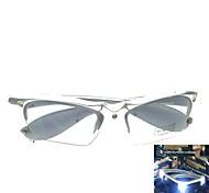 Shiny 3LED + Music Glasses Night Market (Silver  Box)