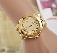 Женские Нарядные часы Кварцевый сплав Группа Серебристый металл Золотистый