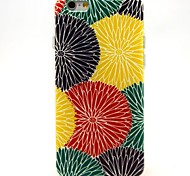 Sun Flower Pattern TPU Soft Case for iPhone 6