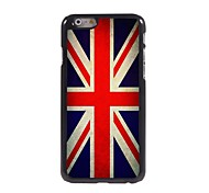 Vintage The Union Jack Design Aluminum Hard Case for iPhone 6