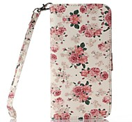 Roses Pattern Full Body Case with Stand  for iPhone 6