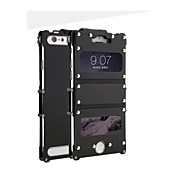 Dual-window with Rivet Design Metal Full Body Case with Stand for iPhone 6(Assorted Colors)