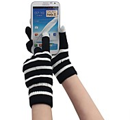 Qianjiatian®Knitted Gloves Touch Phone for iPhone/iPad and Others(Assorted Color)