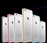 Ultra-Slim Aluminum Metal Bumper Case for iPhone 6 (Assorted Colors)