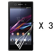 High Definition Screen Protector for Sony Xperia Z1 (3 pcs)