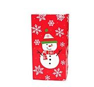 Coway navidad muñeco de nieve de caramelo del paquete de alimentos bolsas