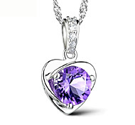Necklace Pendants Jewelry Daily Fashion Alloy White 1pc Gift