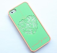 Flower Crown Ero Travel Series 3 in 1 PC Hard Case for iPhone 5/5S