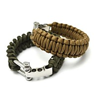 Outdoor Emergency Survival Bracelet(Random Color)