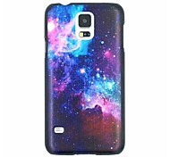 Colorful Galaxy Pattern PC Hard Back Cover Case for Samsung Galaxy S5 I9600