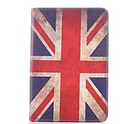 britannico in pelle modello di bandiera caso tutto il corpo per ipad mini 3, ipad mini 2, ipad mini