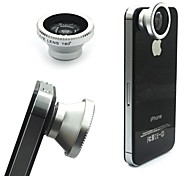 Detachable 180 Degree Magnetic LENS Fish-eye Lens For iPhone/Samsung/HTC/Mobile Phone and Digital Camera