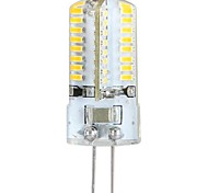 3W G4 LED-maïslampen / 2-pins LED-lampen T 64 SMD 3014 360 lm Warm wit AC 100-240 V