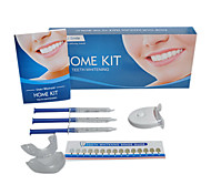 non peroxide teeth whitening kits with mini led light