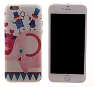 The Elephant and the People's Design PC Hard Case for iPhone 6 Plus
