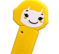 Cute Cookie Girl Cartoon Earphone Cable Wire Cord Organizer Cable Winder