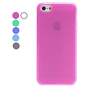 Custodia morbida in TPU per iPhone 5 - Colori assortiti