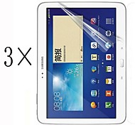 [3-Pack] High Transparency LCD Crystal Clear Screen Protector with Cleaning Cloth for Samsung Galaxy Tab S 10.5 T800