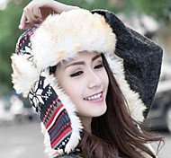 Unisex Wool Blend Trapper Hat , Cute Winter