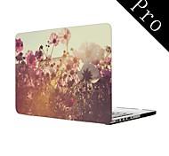 """Wildblumen-Design Ganzkörper-Kunststoffschutzhülle für MacBook Pro 13 """"/ 15"""" (non-Retina)"""