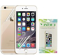 High Transparent Screen Protector + Back Skin Protector Set for iPhone 6S/6