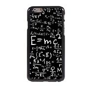 Formula Pattern Aluminum Hard Case for iPhone 6