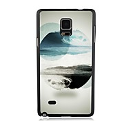 Elonbo The Surge of The Sea Plastic Hard Back Case Cover for Samsung Galaxy Note 4