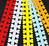 5pcs 3 centimetri x 52 centimetri di amore di carta a forma di petalo di fiore quilling set creativo fai da te di carta origami di laminazione