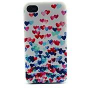 Farbe der Liebe Ballonmuster Hard Case für iPhone 4 / 4s