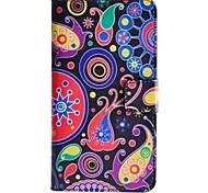 modello colorato meduse pu custodia in pelle con il basamento e la carta slot per HTC Desire 510