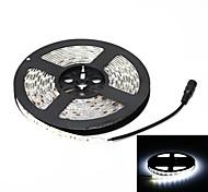 étanche bande de lumière 72W 3000lm 6000K 300-SMD 5050 LED blanche (5m / 12V DC)