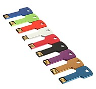 8GB Key Style USB Flash Drive(Assorted Color)