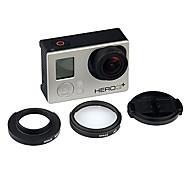 Lens Cover + 32mm UV Filter + Adapter Accessories Kit for GoPro Hero 3+/3