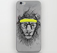 Lions Tied Yellow Ribbon Pattern hard Case for iPhone 6