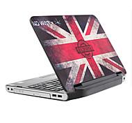 """union jack padrão laptop etiqueta protetora da pele para 14 """"laptop"""