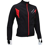 REALTOO Bike/Cycling Jacket / Fleece Jackets / Tops Women's / Men's / Unisex Long SleeveWaterproof / Breathable / Rain-Proof / Windproof