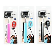 Selfie Extendable Handheld Monopod with Mobile Phone Holder and Bluetooth Remote Shutter for Android 4.2.2